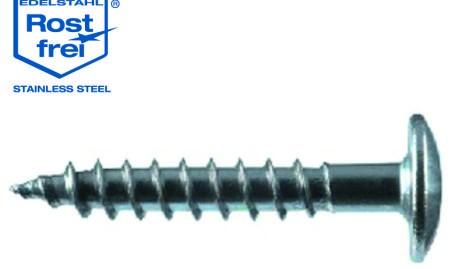Holzschraube 5,5 x 55 mm A2